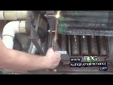 How To Repair Water Leaking Swimming Pool Spa Heater Heat Exchanger Final Round 3 KO