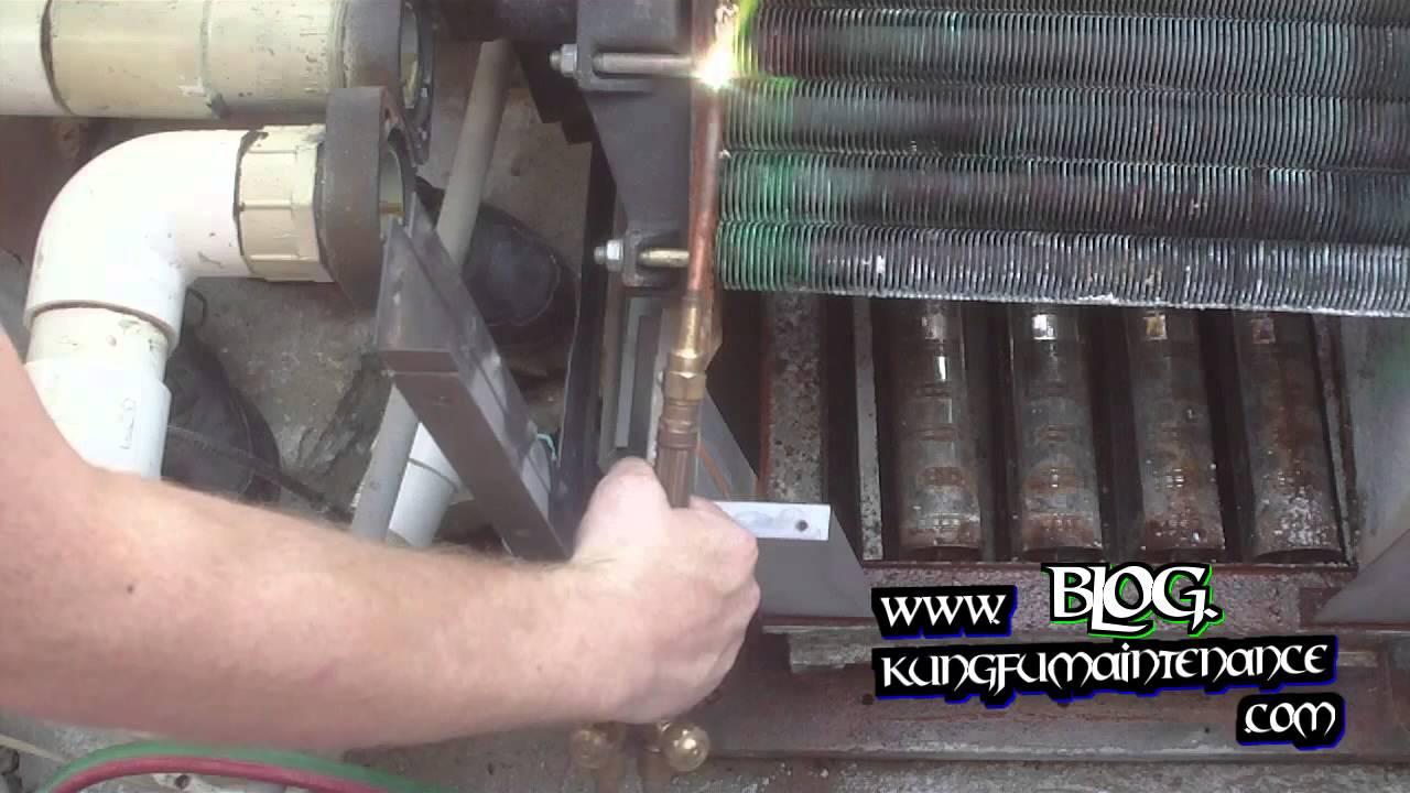 How To Repair Water Leaking Swimming Pool Spa Heater Heat