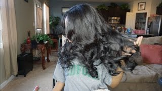   ITSDREAMHAIR.COM  Traditional Sew In weave   Watch Me Install!