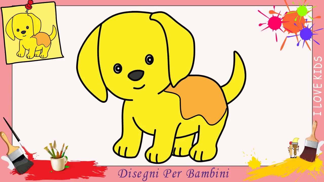 Come Disegnare Un Cane Cucciolo Facile Passo Per Passo Per Bambini