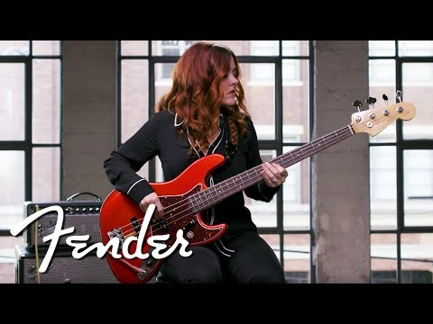 Download Youtube: Annie Clements Demos The '60s Jazz Bass® | American Original Series | Fender