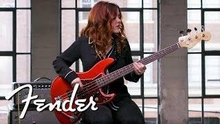 annie clements demos the 60s jazz bass® american original series fender