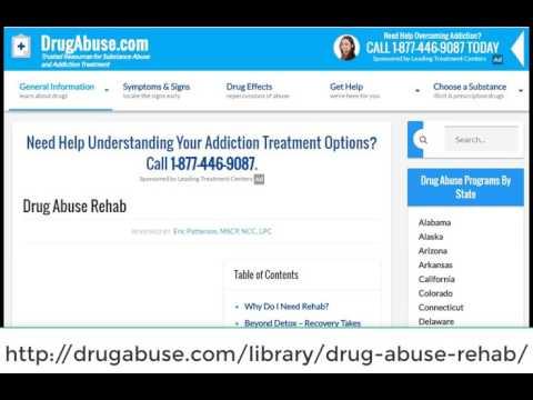 drug addiction help centers
