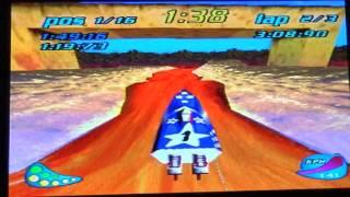 Rapid Racer: PS1   (Actual Hardware)