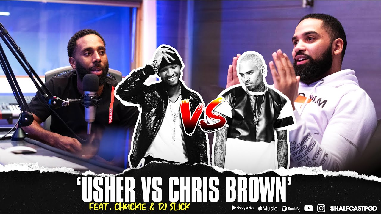 Could CHRIS BROWN Beat USHER??? || Halfcast Podcast