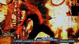 Spider-Man Blu-ray Disc Main Menu