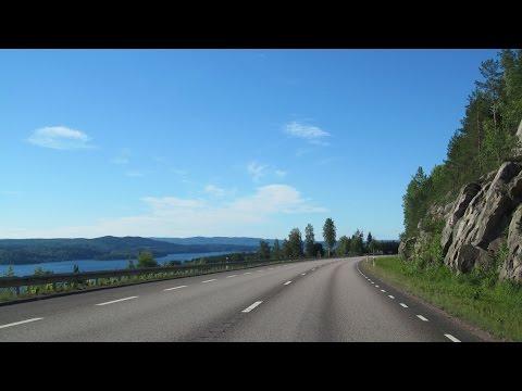 Sweden: E45 Torsby - Sunne (Värmland County)