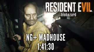 Resident Evil 7 - NG+ Madhouse Speedrun in 1:41:30 [World Record]