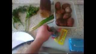 Кушать подано - Картошка с селедкой.