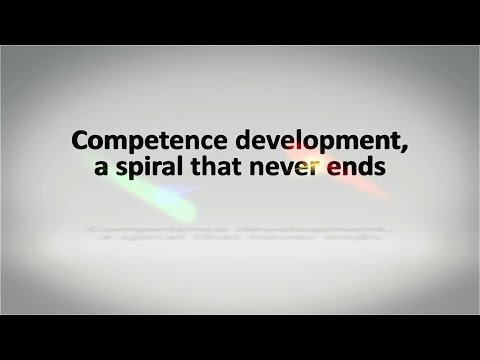 Competence development, a spiral that never ends