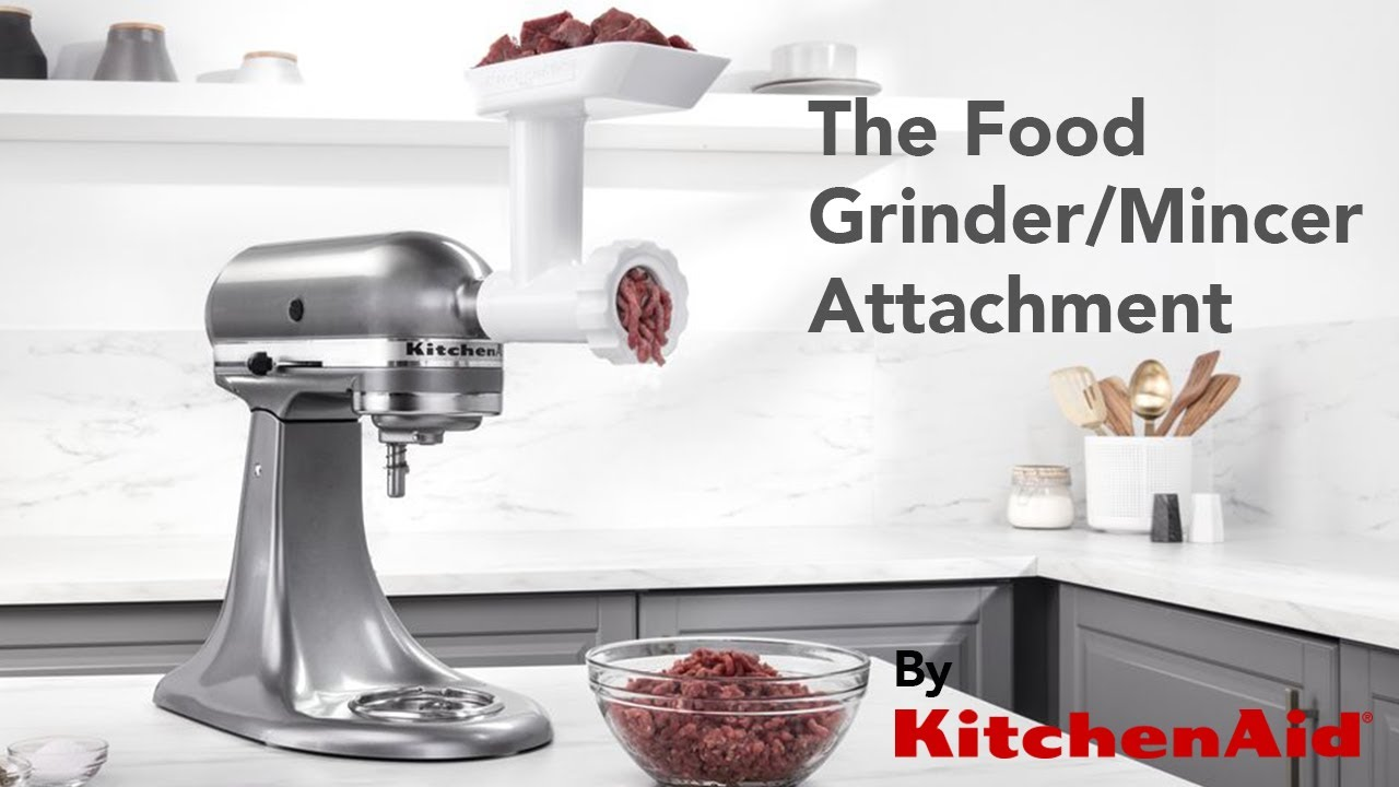 Make your own mince from scratch using the KitchenAid® Food Grinder ...