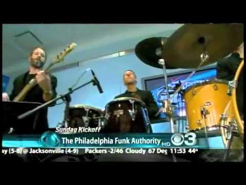 Philadelphia Funk Authority at CBS3 Studio with Beasley Reece - Interview and Bad Mamma Jamma