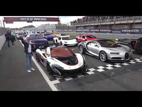 Bugatti Chiron Vs Lamborghini Aventador