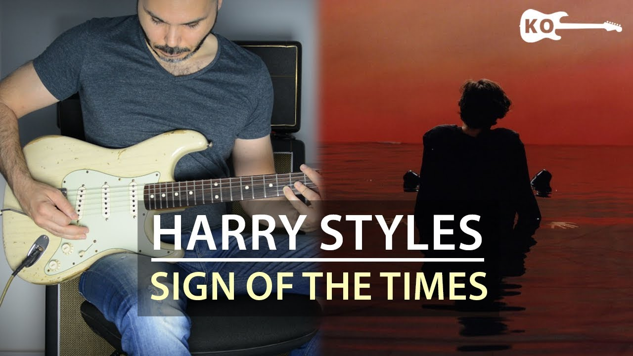 Harry Styles Sign Of The Times Electric Guitar Cover By Kfir