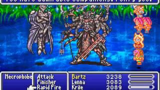 Game Boy Advance Longplay [106] Final Fantasy V Advance (part 6 of 7)