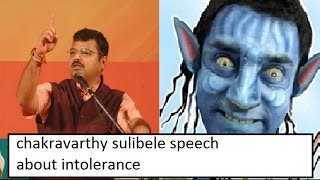 chakravarthy sulibele answer to aamir khan intolerance in india