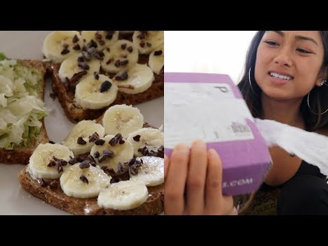 INTUITIVE EATING // WHAT I EAT IN A DAY (VEGAN) + UNBOXING