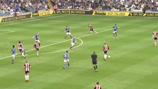 Birmingham 2-1 Blades - match action
