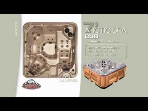 Cub\' Model Hot Tub | Arctic Spas - YouTube