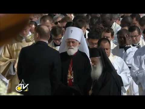 Inaugural Mass of the Pontificate  ( Mihailo Archbishop of Cetinje and Montenegrin Metropolitan)