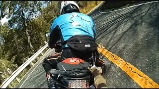 "Winding Riders  "" trial and error ""   ドラレコ自撮り HYOSUNG GT250R 走り屋 峠"