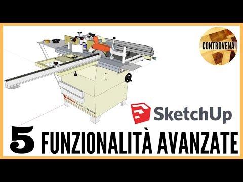 SketchUp: 3d warehouse, layer e scene. Funzionalità avanzate | Fai da te, falegnameria e legno