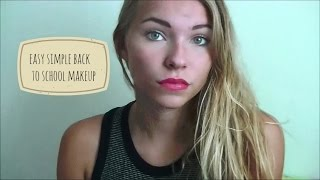 back to school makeup & outfit tutorial Thumbnail