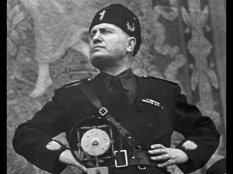 Donald Trump as Benito Mussolini, From YouTubeVideos