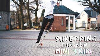 SHREDDING MY NEW LONGBOARD | Crownboards Mini Tribe | Dance x Freestyle