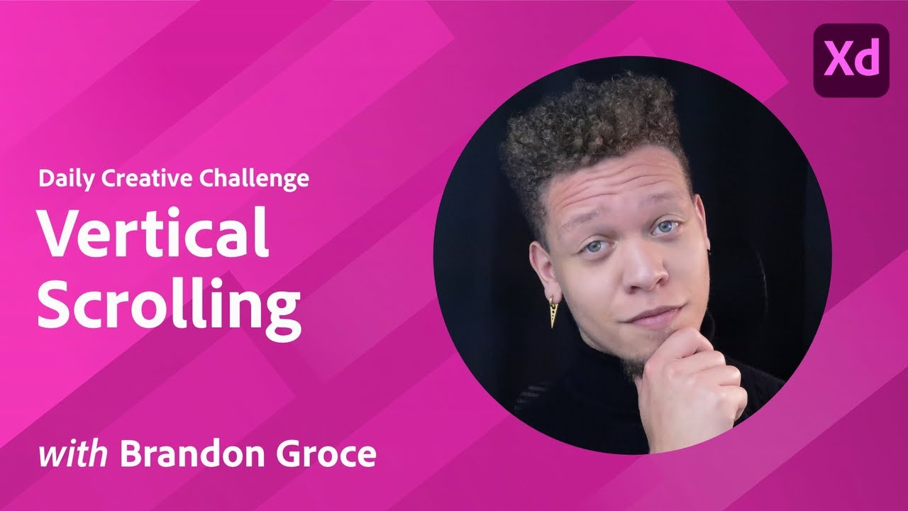 Creative Encore: XD Daily Creative Challenge - Vertical Scrolling
