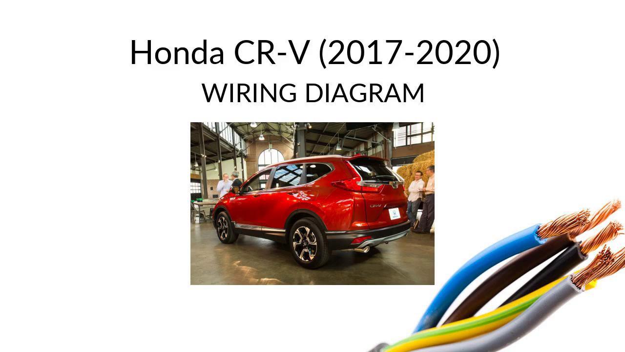 honda cr-v 2017 -   wiring harness diagram for honda + manual - youtube  youtube