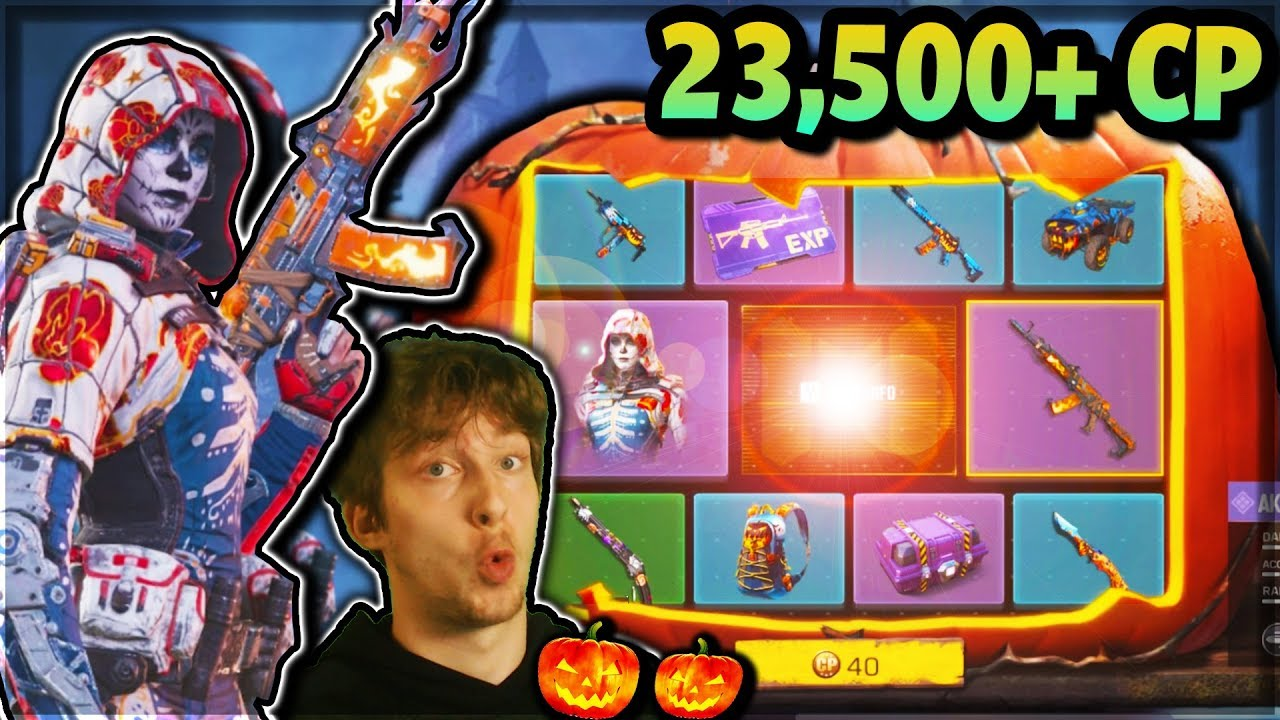 Cod Mobile Players Discover Real Odds For The Halloween Lucky Draw Dot Esports