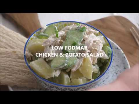 Low Fodmap Chicken and Potato Salad