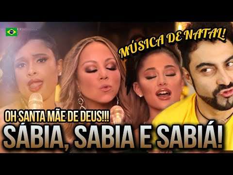 REAGINDO A Mariah Carey – Oh Santa! (Official Music Video) ft. Ariana Grande, Jennifer Hudson