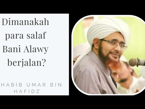 Dimanakah Para Salaf Bani Alawy Berjalan?