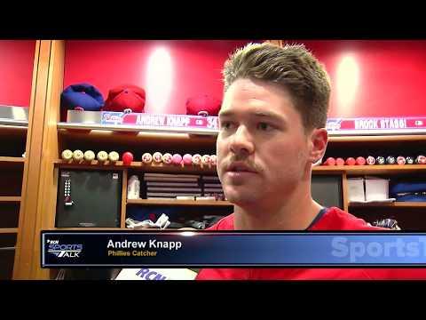 Phillies Andrew Knapp Interview