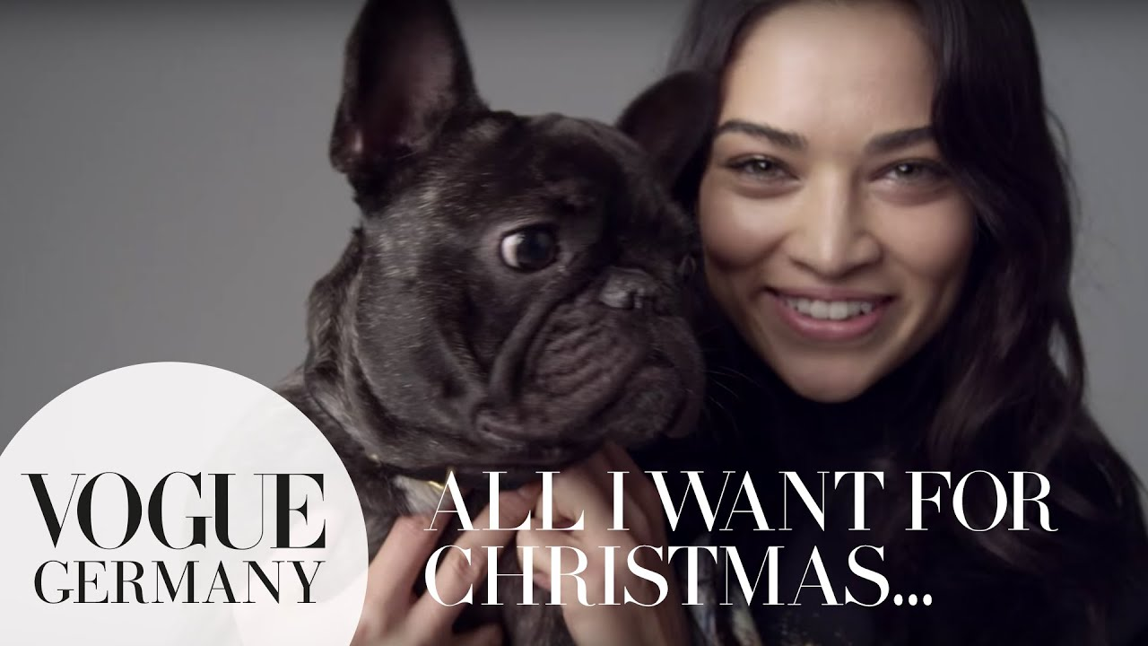 All I want for Christmas… – A Message for you by Shanina Shaik for VOGUE