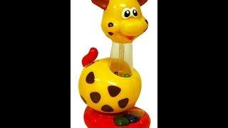 Обзор игрушек. Жираф Kiddieland Развивающий