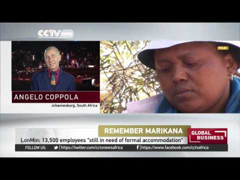 South African mineworkers gather to commemorate violent 2012 labor protests
