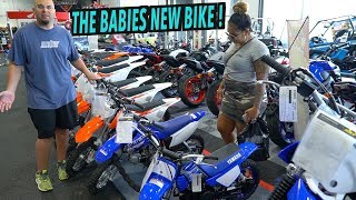 BIKE SHOPPING FOR MY DAUGHTER (WE COULD NOT WAIT) | BRAAP VLOGS