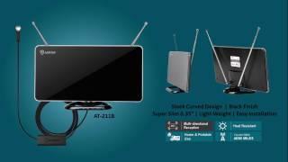 AT 211B Antop Indoor HDTV Antenna Flat Panel