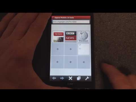 Opera Mobile 10 Beta | Pocketnow