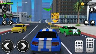 Car Driving Academy 2018 3D / Car Parking games / Android Gameplay FHD #3