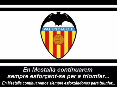 Himne del València C.F. (Lletra) - Himno del Valencia C.F (Letra)