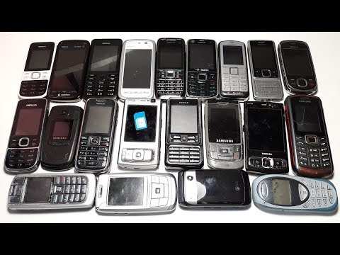 Посылка от подписчика Рихардса 9 кг ретро телефонов даром из Латвии #1 part Nokia N95, 5800 Express
