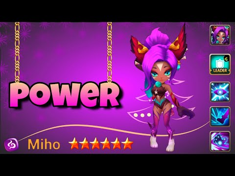 The Power Of MIHO (NEW 2A Martial Cat Dark) - Summoners War