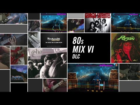 80s Mix Song Pack VI - Rocksmith 2014 Edition Remastered DLC