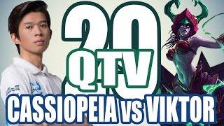 Stream QTV - CASSIOPEIA vs VIKTOR (28/11) #29