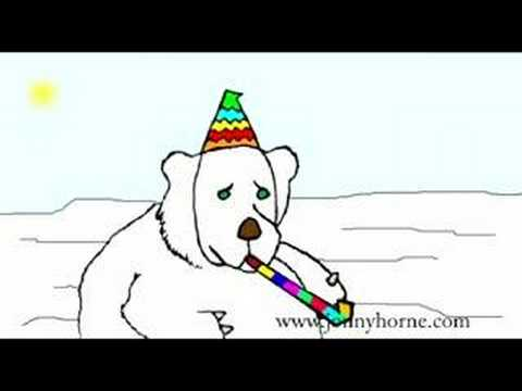 The Bi-Polar Polar Bear The Bi-Polar Party Bear