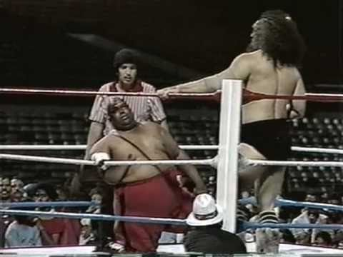 Wwc Bruiser Brody Vs Abdullah The Butcher 1987 Youtube